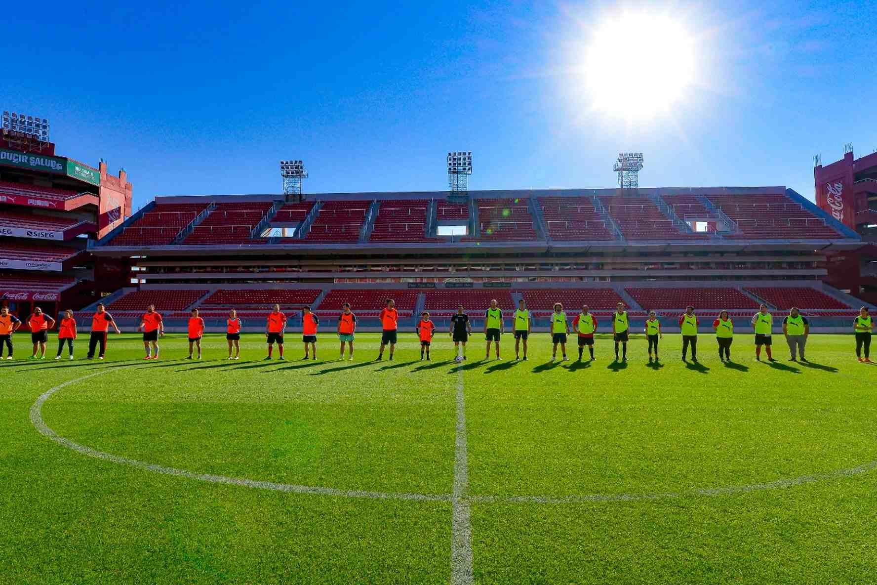 Los socios de Independiente que cumplieron su sueño el último fin de semana
