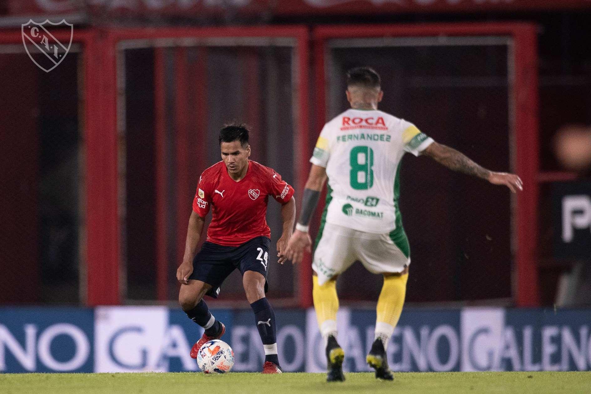 Sergio Barreto está viviendo un momento de forma fantástico que celebra todo el mundo Independiente.