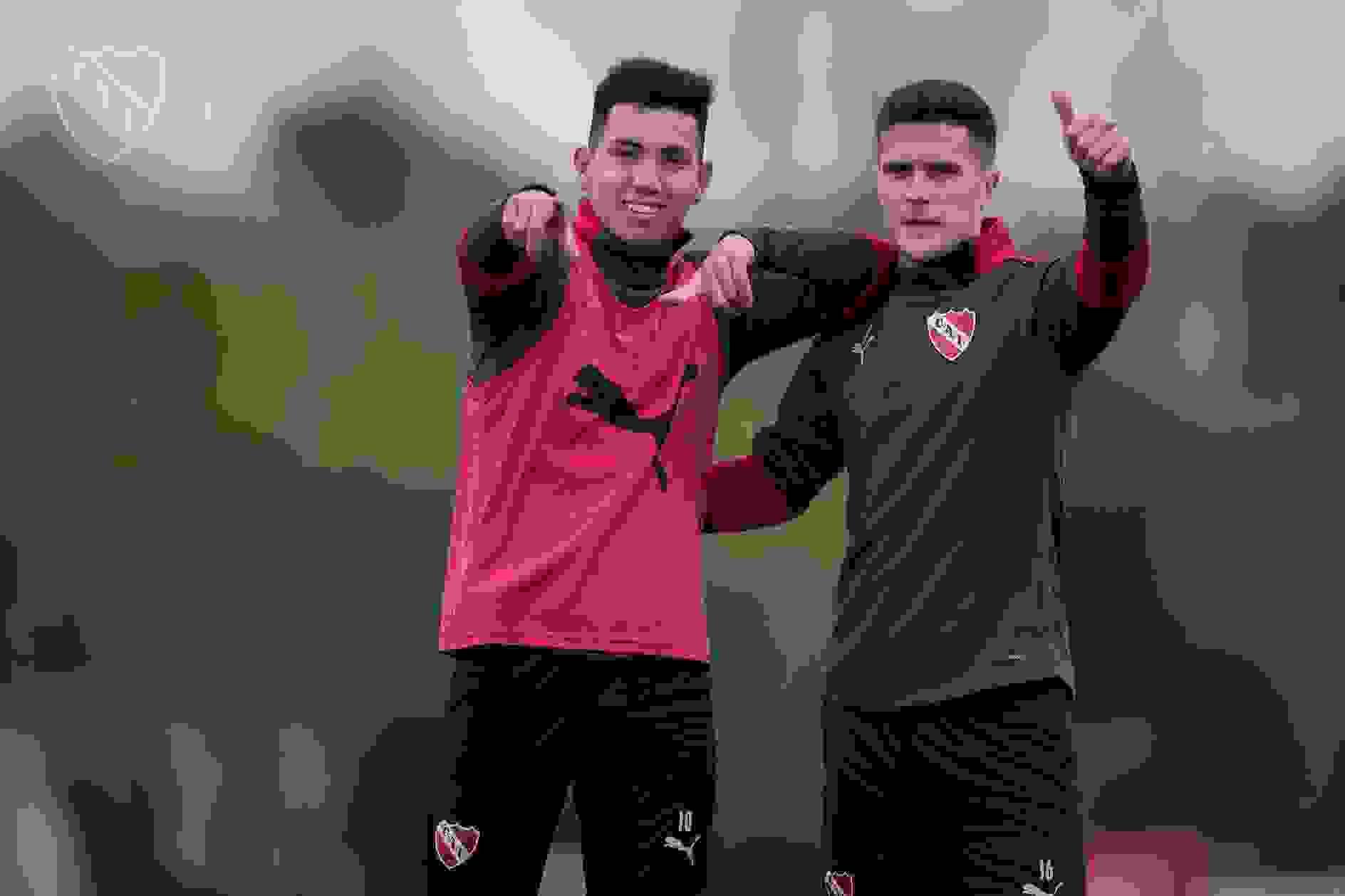 Tanto Alan Velasco como Fabricio Bustos serán titulares en el equipo que lidera Julio César Falcioni.