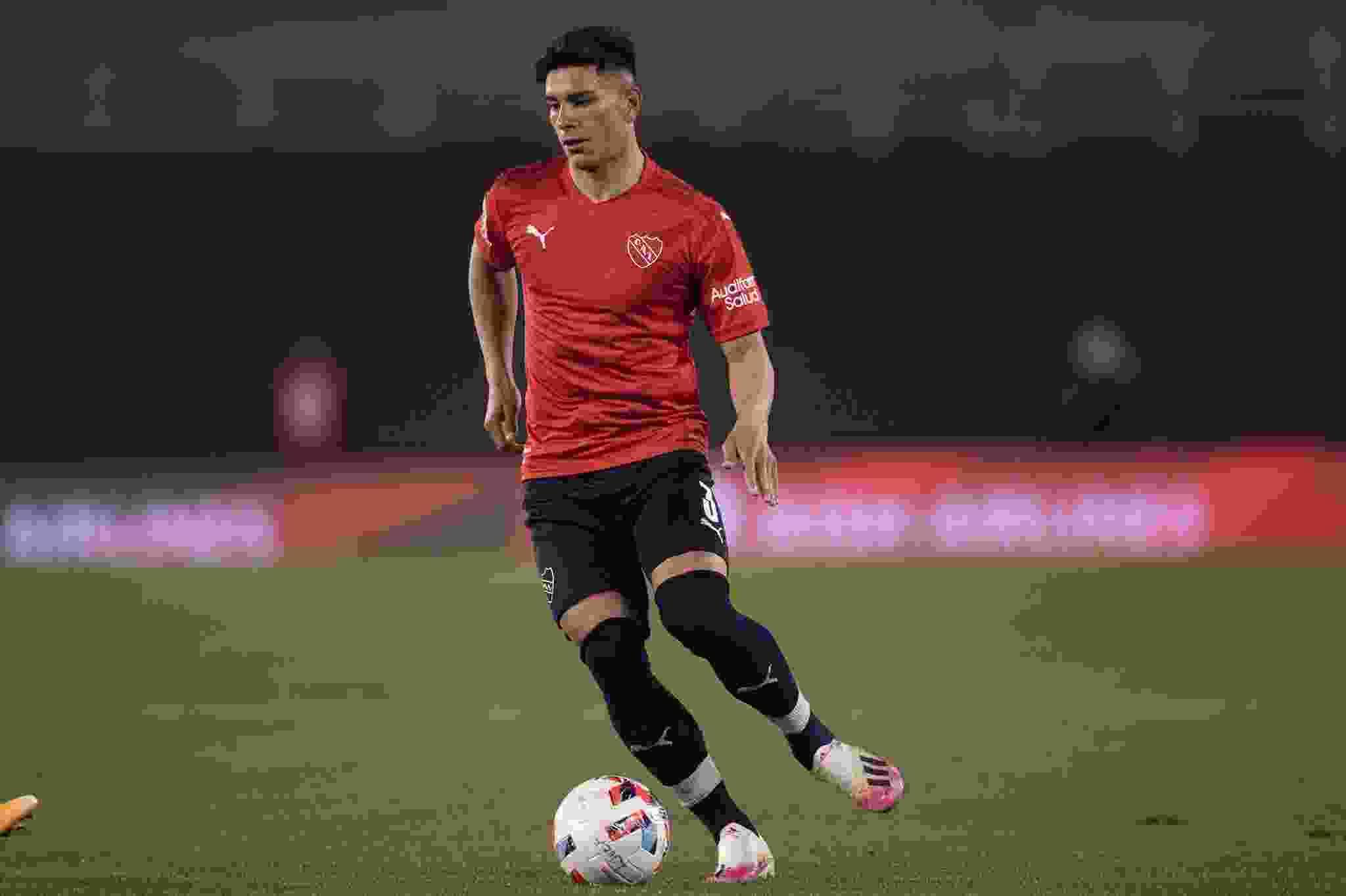 Thomas Ortega, futbolsita formado en el Club Atlético Independiente, se quedaría con el puesto al tener la banca de Julio Falcioni.