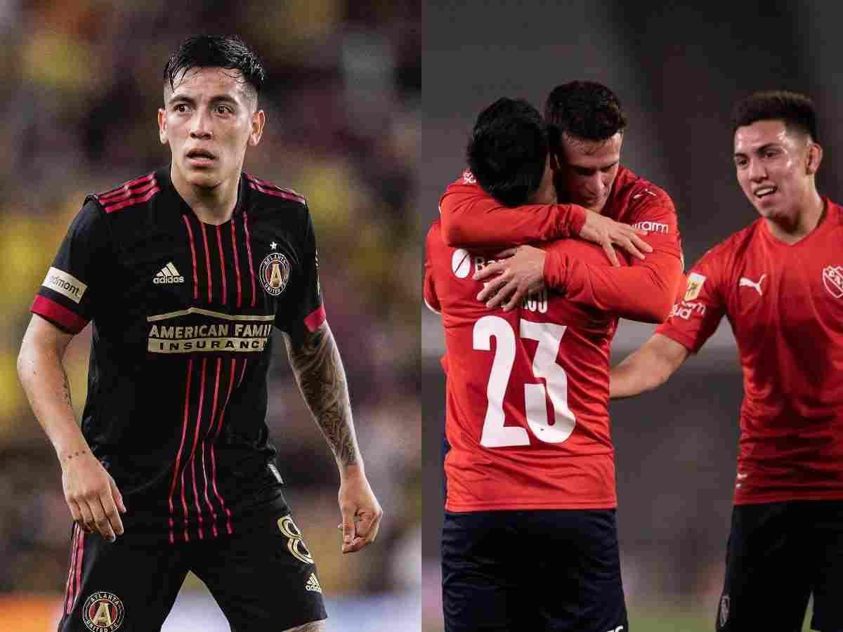 Atlanta United retó a Independiente en las redes