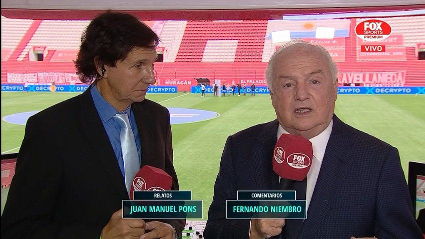 """""""Con angustia"""": el comentario de Fernando Niembro sobre Independiente"""