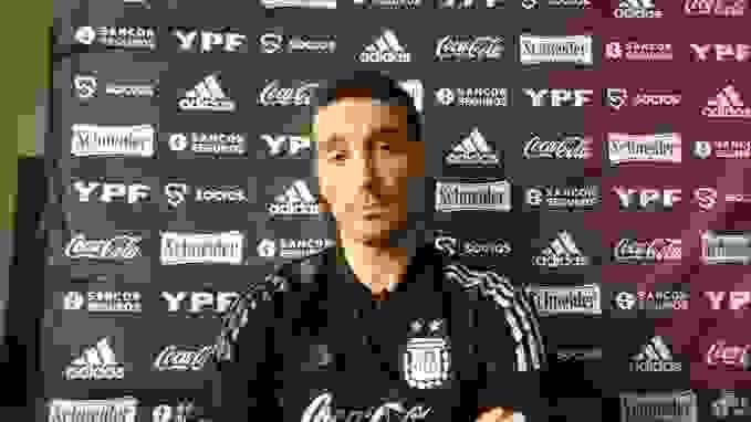 Antes del partido, habló el técnico de la selección argentina