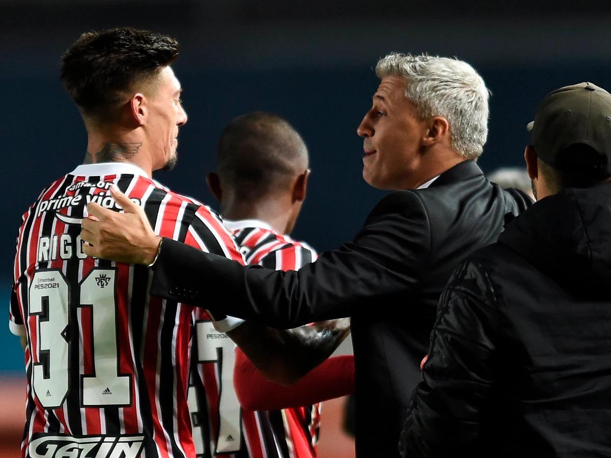 Emiliano Rigoni llegó a Sao Paulo bajo el pedido de Hernán Crespo y se transformó en uno de los pilares del equipo.