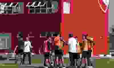 Independiente y un video imperdible del entrenamiento