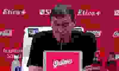 Julio Falcioni reclamó un penal y explotó contra el arbitraje