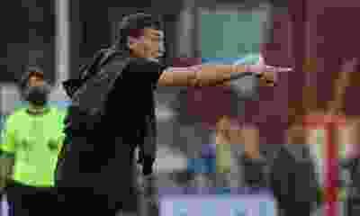 """Julio Falcioni: """"Desde que llegamos al club hicimos un trabajo responsable"""""""