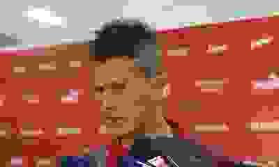"Sebastián Sosa: ""El equipo no se baja de la pelea"""