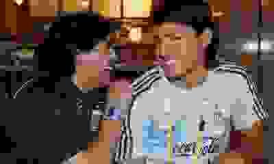 """El Kun Agüero habló de la muerte de Maradona: """"Cuando me enteré, pensé que era mentira"""""""
